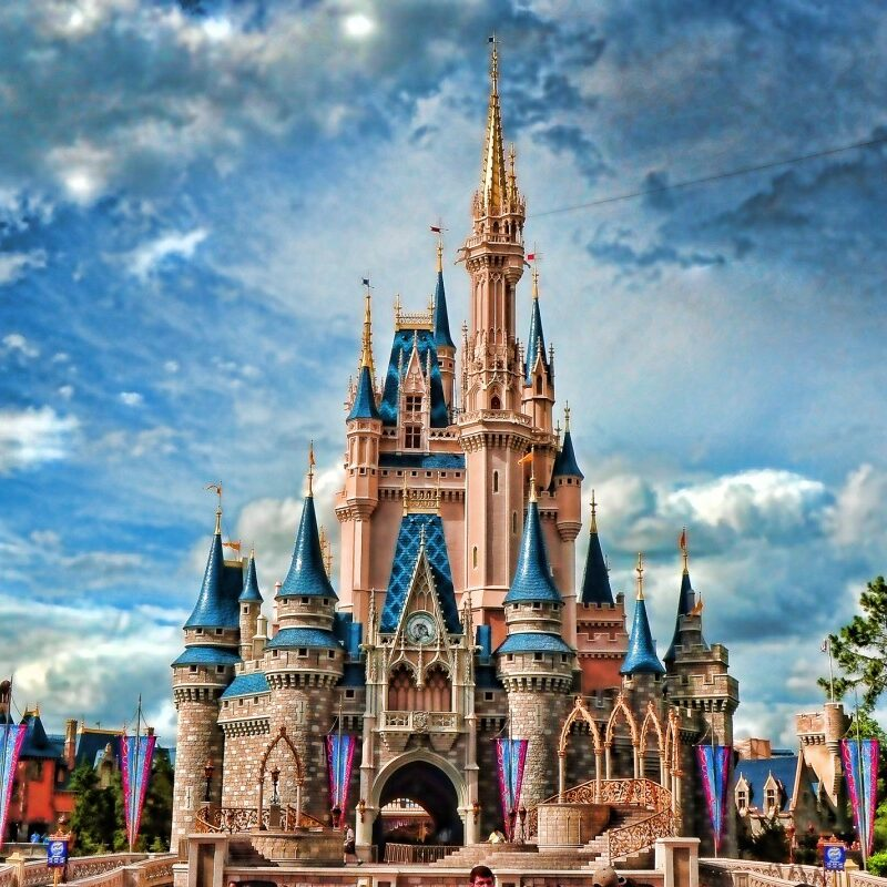disney world castle pictures